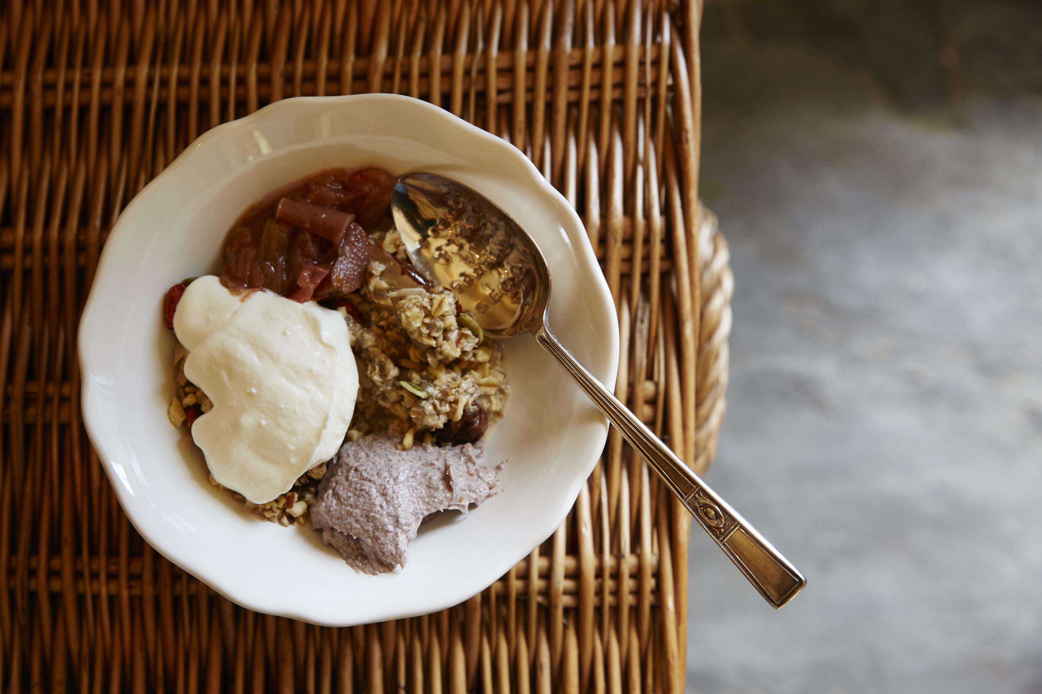 Soaked oats, homemade granola on More Balanced Living Retreats, Bath