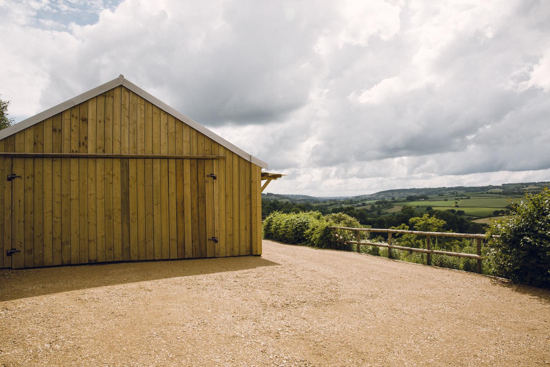 Gorgeous yoga barn space at T's Farm, More Balanced Living Bath Retreat